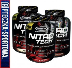 Nitro Tech 1800 g MUSCLETECH