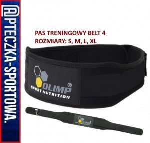 Pas treningowy - COMPETITION BELT 4""