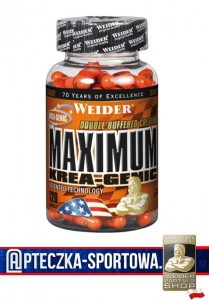 WEIDER Maximum Krea-Genic 120 kaps