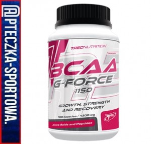 BCAA G-Force 1150 180 kaps TREC
