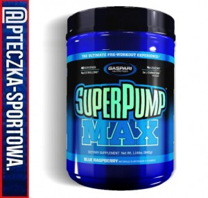 SuperPUMP MAX 640 g GASPARI