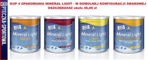 MINERAL LIGHT - 4x 333 g INKOSPOR