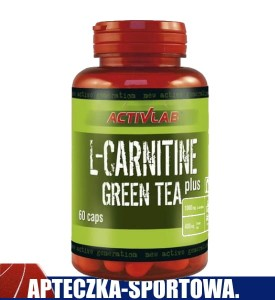 L-Carnitine PLUS Green Tea 60 kaps