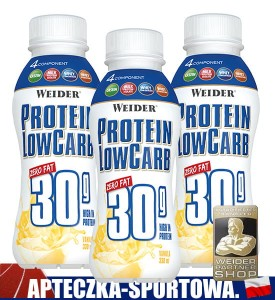 Protein Low Carb Drink 3x 330 ml WEIDER