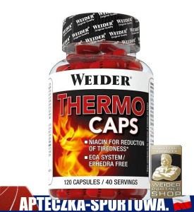 Thermo Caps 120 kaps WEIDER