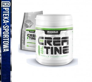 CREATINE MICRONIZED 400 g RX GOLD