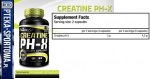 BIO TECH Creatine PH-X - 90 kaps