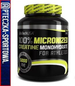 BIO TECH Creatine Monohydrate - 1000 g