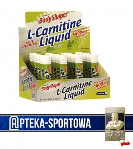 L-Carnitine Liquid - 20x 25 ml WEIDER