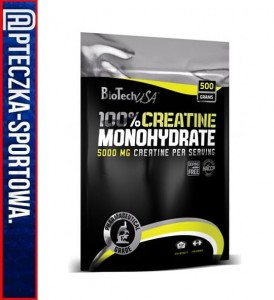 BIO TECH Creatine Monohydrate - 500 g