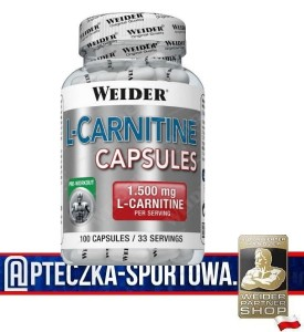 L-Carnitine Capsules 100 kaps WEIDER
