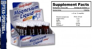 Magnesium Liquid - 20x 25 ml WEIDER