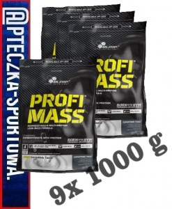 PROFI MASS 9000 g Olimp (9x 1000)