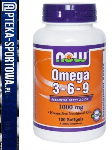 Omega 3-6-9 1000 mg 100 kaps NOW FOODS