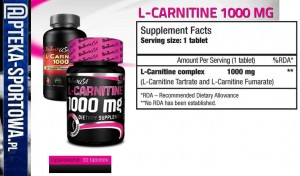 BIO TECH L-Carnitine 1000 - 30 tabl