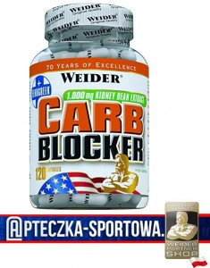 Carb Blocker 120 kaps WEIDER