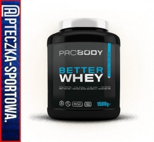 Better Whey WPC & WPI 1500 g Pro Body