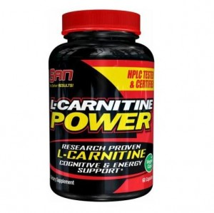 L-Carnitine POWER 500 mg 60 kaps SAN