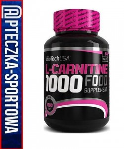 BIO TECH L-Carnitine 1000 - 60 tabl