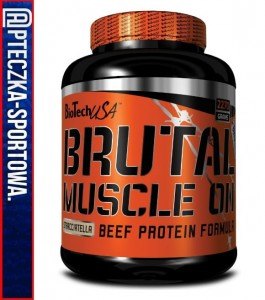 BIO TECH Brutal Muscle On - 2270 g