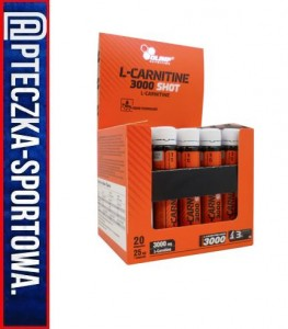 L-Carnitine 3000 Extreme Shot - 20x 25 ml