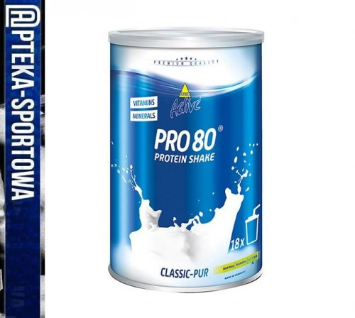 Active Pro 80 protein shake