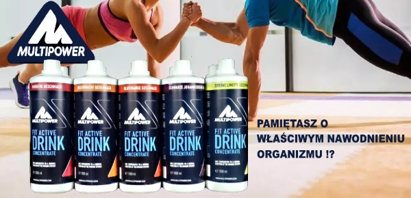 FIT ACTIVE DRINK CONCENTRATE MULTIPOWER
