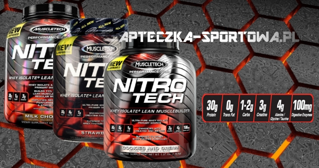 NITRO TECH 1800 muscletech